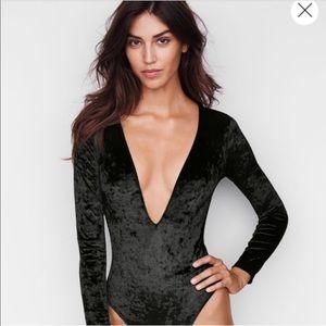NWOT Victoria Secret Deep V-Neck Bodysuit